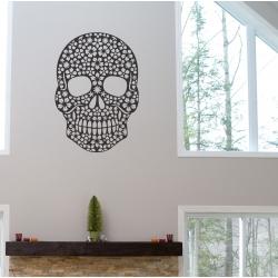 Sugar Skull Day of the Dead dia de los Wall Tattoo Vinyl Decal Sticker Removable