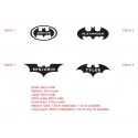 Personalized Custom Batman Wall Name Sticker Removable Decal 4 designs
