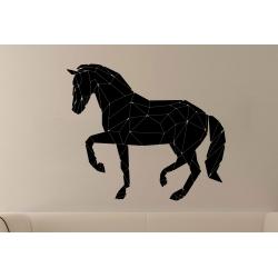 Geometric Horse Wall Sticker Vinyl Decal Removable Modern Decor