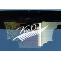 Silver Fern Kia Ora Sticker Decal New Zealand Maori Hi Car Boat Tattoo