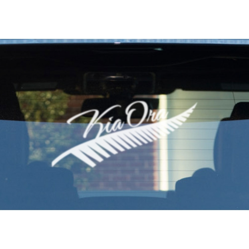 New Zealand Fern Car Stickers Kamos Sticker - Wall decals nzsilver fern kia ora new zealand maori wall sticker vinyl decal ebay