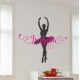 BIRD AND CAGE TREE WALL VINYL STICKER REMOVABLE CLEAR BLACK