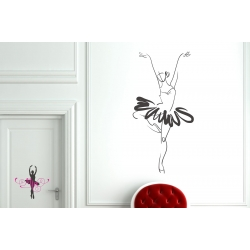 Ballerina Ballet Dancer Dance Wall Sticker Vinyl Decal