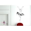 Ballerina Ballet Dancer Dance Wall Sticker Vinyl Decal