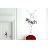 Ballerina Ballet Dancer Wall Sticker Vinyl Decal