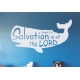 Salvation is of the LORD Bible Verse Wall Decal Sticker Jonah 2:9