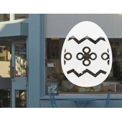Easter Egg Vinyl Decal Sticker Wall Door Shop Window Sign Removable