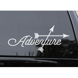 Adventure Sticker Vinyl Decal for Car Laptop Bumper Mobile